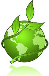 icon of plant wrapping around the earth